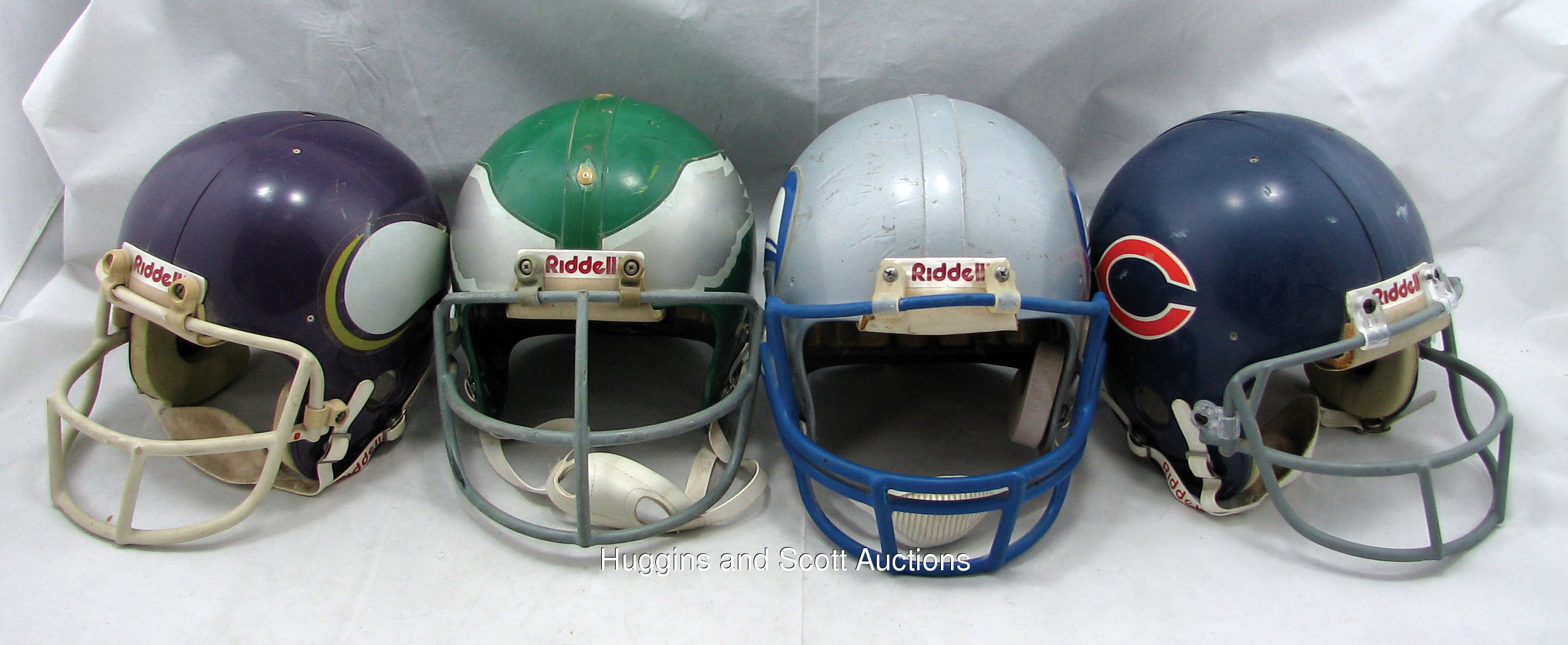 3fd16fcb3d0 4) 1970s-80s Game-Used Football Helmets
