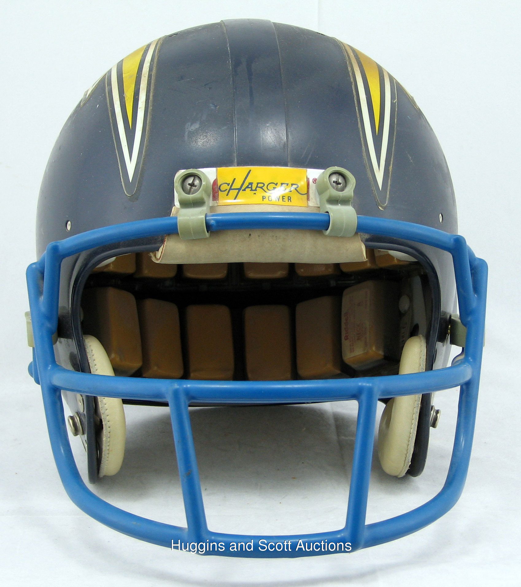 San Diego Chargers Game Online: 1974-87 San Diego Chargers Game-Used Helmet