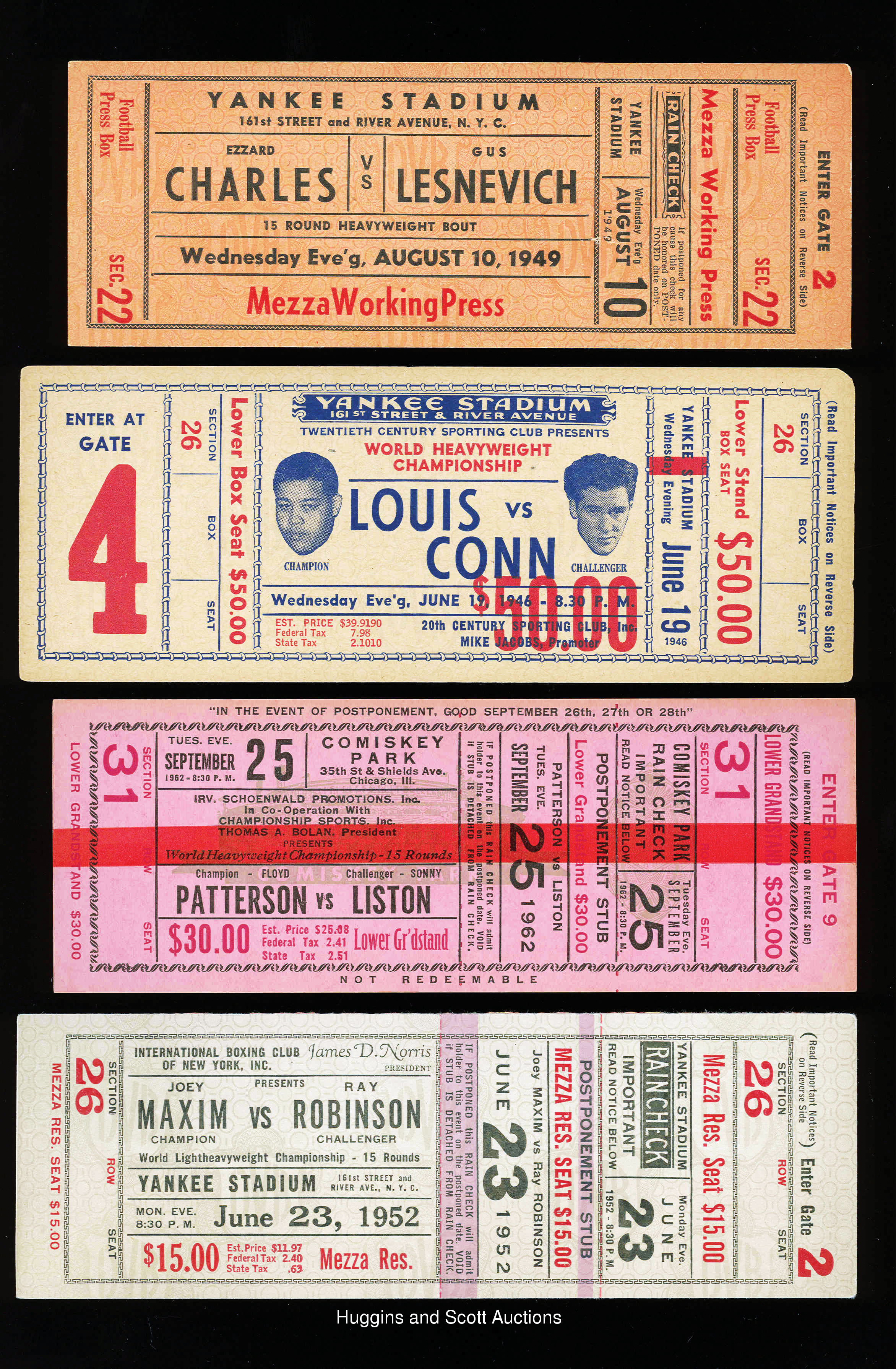 Old Boxing Tickets Wiring Diagrams Light Laser Led Gt Xenon Circuits Simple Strobe Circuit L12379 4 Full With Louis Conn Rh Mar07 Hugginsandscott Com Luis And Shmeling Ticket 1920
