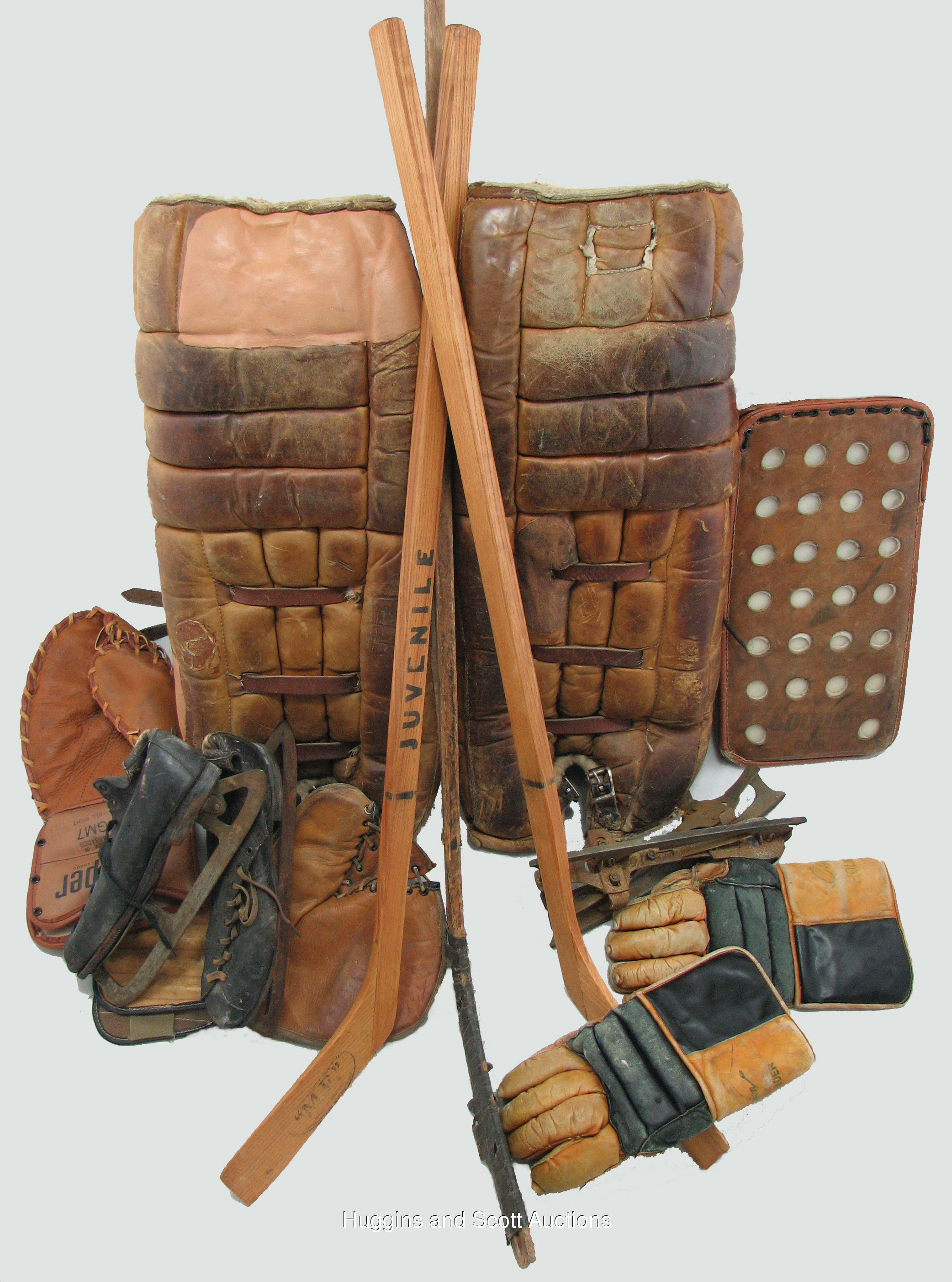 Incredible Vintage Hockey Equipment Collection 19